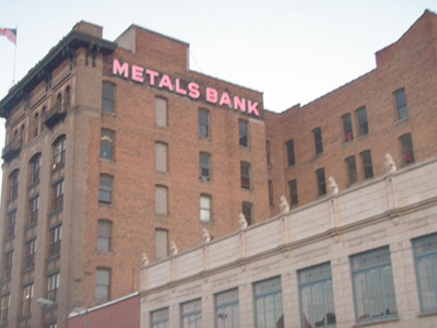 The Metals Bank Building today